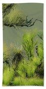 Alien Garden 2 Beach Sheet