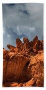 Alien Landscape Valley Of Fire Beach Towel
