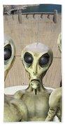 Alien Vacation - Hoover Dam Beach Sheet