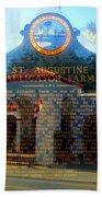 Alligator Farm 1890 Beach Towel