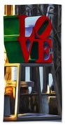 All About Love Beach Towel