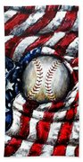 All American Beach Towel