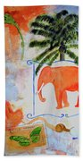 All Creatures Great And Small Beach Towel