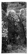 All In A Row At Fuerty Cemetery Roscommon Ireland Beach Towel