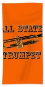 All State Trumpet Beach Towel