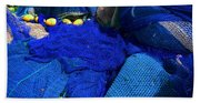 All The Blue Of The Sea Beach Towel