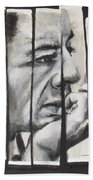 All Together Johnny Cash Beach Towel
