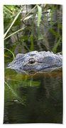 Alligator Hunting Beach Towel