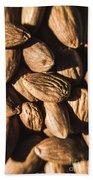 Almond Nuts Beach Towel
