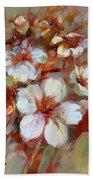 Almonds Blossom1 Beach Towel