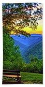 Almost Heaven - West Virginia 3 - Paint Beach Towel