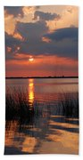 Almost Sunset In Florida Beach Towel
