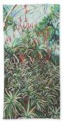 Aloe Garden Vumba Beach Towel
