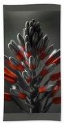 Aloe In Bloom Beach Towel