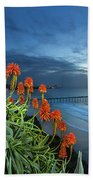 Aloe Vera Bloom Beach Towel