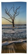 Alone In The Water Beach Towel