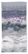 Along The Costal Highway Beach Towel