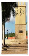 Along The Hands Of Time Beach Towel