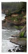 Along The Oregon Coast - 7 Beach Towel