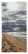 Along The Way Beach Towel