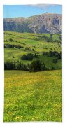 Alpe Di Siusi - Dolomiti Beach Towel