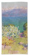 Alpes Maritimes From Antibes Beach Towel