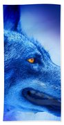 Alpha Wolf Beach Towel