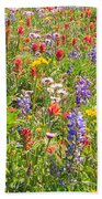 Alpine Glory In Canada Beach Towel