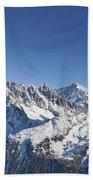 Alpine Panorama Beach Towel