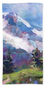 Alpine View Beach Towel