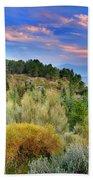 Alpujarras Forest At Sunset Beach Towel