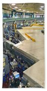Als Beamlines And Inner Ring Beach Towel
