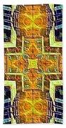 Altar Cross Tapestry Beach Towel