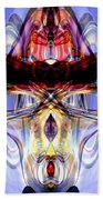 Altered States Abstract Beach Towel