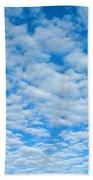 Alto-cumulus Beach Towel