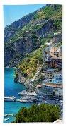 Amalfi Coast, Positano, Italy Beach Towel
