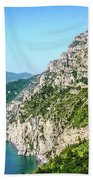 Amalfi Splendor Beach Towel