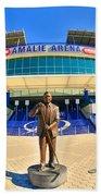 Amalie Arena Beach Towel