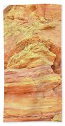 Amazing Color In Wash 3 - Valley Of Fire Beach Towel