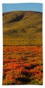 Amazing Poppy Fields Beach Towel