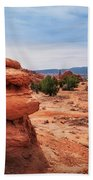 Amazing Rock Formations At Kodachrome Basin State Park, Usa. Beach Towel