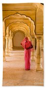 Amber Fort Temple Beach Towel