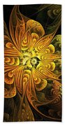 Amber Light Beach Towel