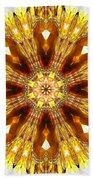 Amber Sun. Digital Art 3 Beach Towel