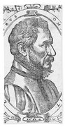 Ambroise Pare, French Surgeon, 1561 Beach Towel