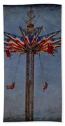 America Swings Beach Towel