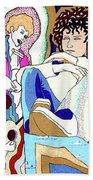 Jelly Roll Bob - Portraits Of Dylan Beach Towel