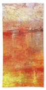 American Beach Cottage Art And Feelings-5 Beach Towel