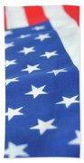American Flag 2 Beach Towel