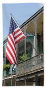 American French Quarter Beach Towel